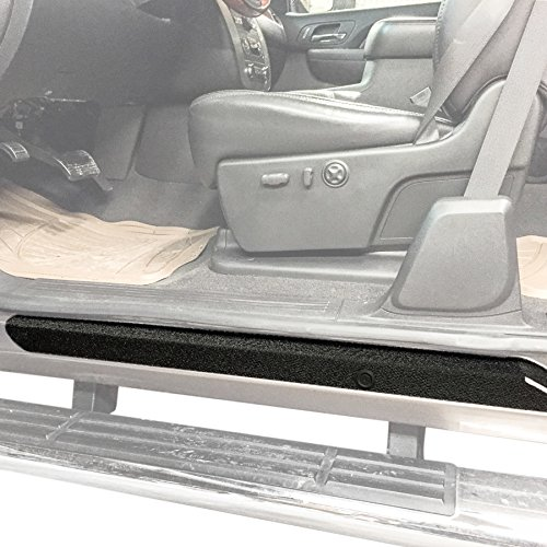 Red Hound Auto Custom Door Sill Entry Guard Kit Compatible with Chevy GMC Silverado Sierra 1500 2007-2013, 08-14 2500/3500 Extended Cab Only - 6pc Kit