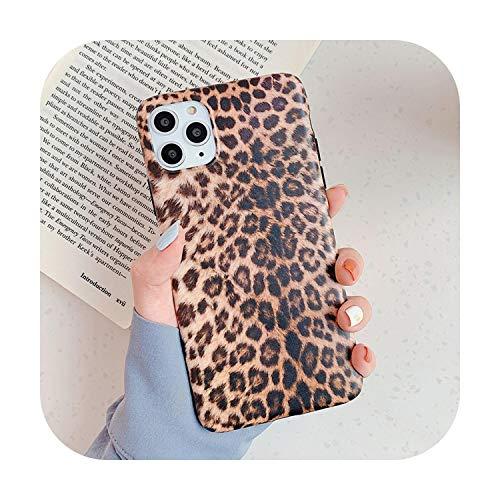 La nostra Dame - Cover leopardata per iPhone 11 11Pro Max Opaco, morbida custodia per iPhone 7 8 6 6 S Plus XS Max X XR