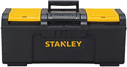 Stanley STST24410 24-Inch One Latch Toolbox, Black/Yellow