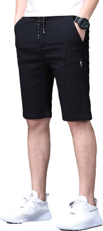 Wantess Men's Quick Dry Shorts Summer Thin Comfortable Breathable Leisure Drawstring