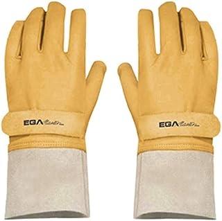 Egamaster - Guantes cuero con guante aislante talla 9/10