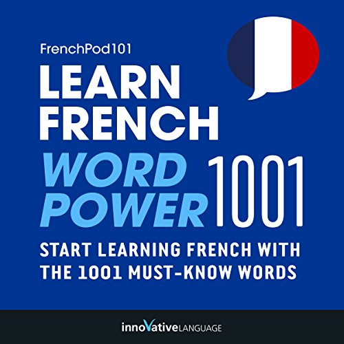 Learn French: Word Power 1001 audiobook cover art