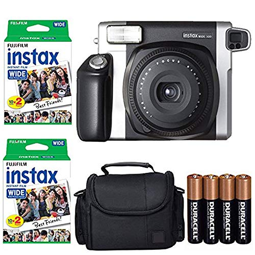 Fujifilm INSTAX 300 Photo Instant Camera With Bundle