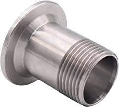 DERNORD Sanitary Male Threaded Pipe Fitting to TRI CLAMP (OD 50.5mm Ferrule) (Pipe Size: 1