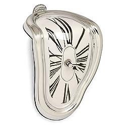 Modern Home Salvador Dali Inspired Melting Table/Mantle Clock