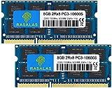 Rasalas 16GB DDR3 1333MHz PC3-10600 2x8GB SODIMM Arbeitsspeicher CL9 204-Pin Non-ECC Unbuffered Notebook Laptop Speicher Kit