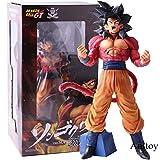 Yvonnezhang Dragon Ball GT Super Master Stars Piece Son Goku Super Saiyan 4 Figura Acción SSJ4 Son Gokou PVC Modelo de colección de Juguetes, B con Caja de Venta al por Menor