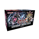asiproper 153pcs TCG English Playing Cards for YuGiOh Legendary Dragon Decks Party Board