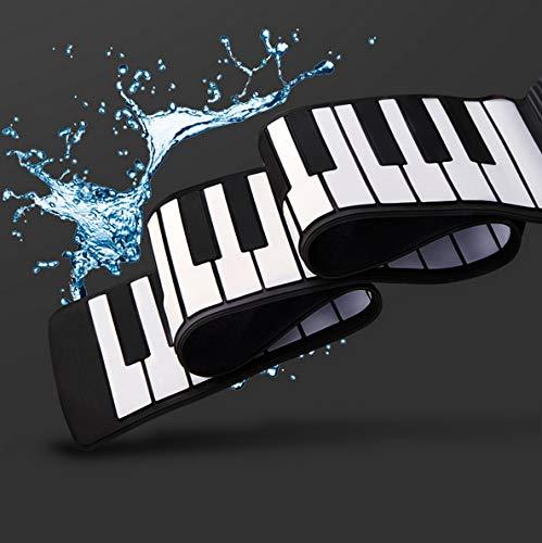 Buy Bargain YIHANGG Hand Roll Piano 88 Keys Portable Folding Silicone Keyboard Thickened with Chord ...