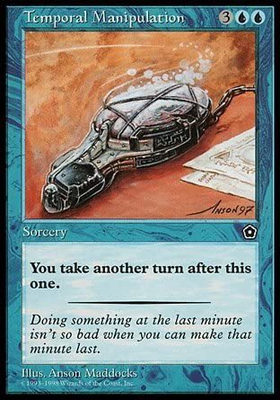 gift Magic The Gathering - Temporal Portal Age outlet Manipulation Second
