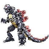 Modbrix Bausteine Godzilla Figur, 697 Klemmbausteine, Lizenz Actionfigur inkl. original Verpackung