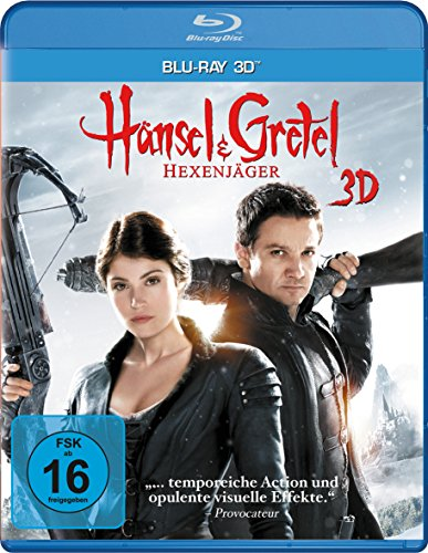 Hänsel und Gretel - Hexenjäger [3D Blu-ray]