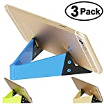 V Cell Phone Tablet Kick StandUniversal Foldable Pocket-sizedfor Phones, Tablets, E-Readers...Just $5 for 3 Pack / $9 for 8 Pack!