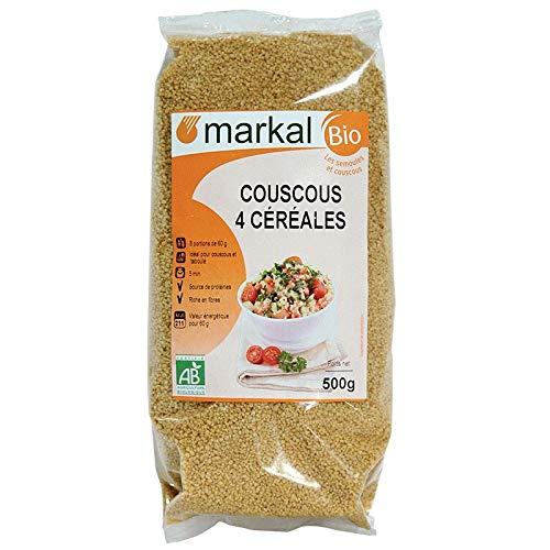 MARKAL - COUSCOUS 4 CEREALES BLE ANCIEN 500G