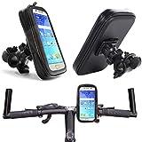 Soporte de bicicleta para Samsung Galaxy S21 Ultra 5G S21+ S20 FE S20 Ultra S20+ A51 A71 A70 A21S Note 10 + Lite A42 A32 5G | resistente al agua teléfono móvil, funda giratoria 360°, XL
