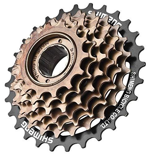 Cassettes Y PiñOnes Tema MTB de la bicicleta 7 Velocidad de casete de montaña bicicleta de carretera Rueda dentada del piñón del ventilador de metal piñón piezas Accesorios for bicicletas Rueda Libre