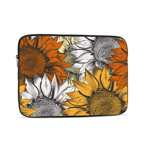 Laptop Covers Bright Yellow Sunflower Laptop Shell Multi-color & Size Choices10 12 13 15 17 Inch Computer Tablet Briefcase Carrying Bag