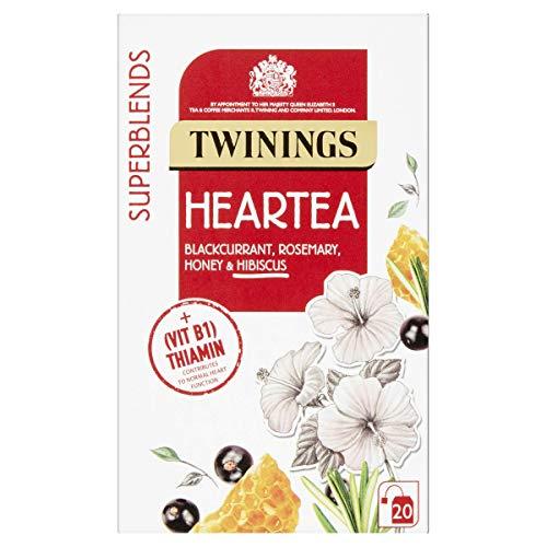 Twinings SuperBlends Heartea, Herbal Tea Bags F15992