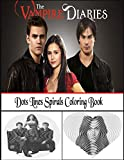 The Vampire Diaries Dots Lines Spirals Coloring Book: A New Interesting Coloring Book With A Lot Of Illustrations Of Vampire Diaries To Relax And Have Fun