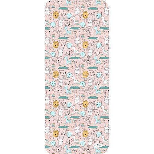 Colchoneta Transpirable Silla de Paseo Universal Verano con tejido 3d- danielstore (Animals rosa)