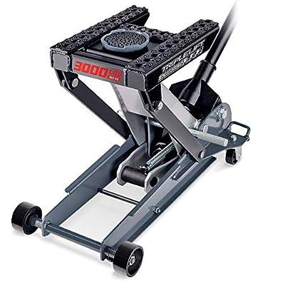 Powerbuilt - 3000Lb Triple Lift Garage Jack, (620622)