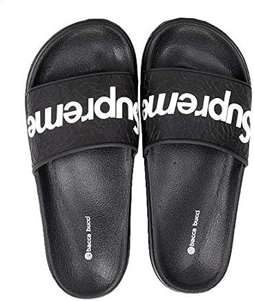 Bacca Bucci Men's Benassi Solarsoft Slide Athletic Sandal/Beach Slippers/Slidders/Lounge Slide/Room wear Flip Flops