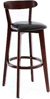 NUBAO Tabourets Hauts  Tabouret Bar  Minimaliste Nordique Moderne  Maison  Loisirs  Bar Bois Massif  Chaise Petit-dejeuner  Cuisine  Restaurant  Fauteuil  Contre-Chaise  Couleurs