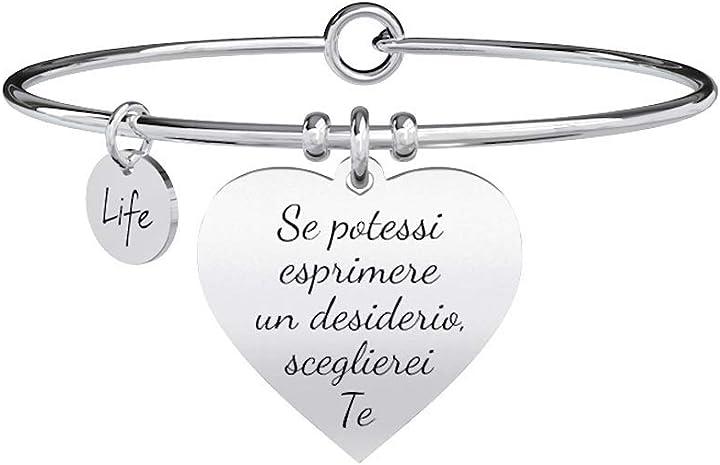 San valentino - bracciale cuore desiderio