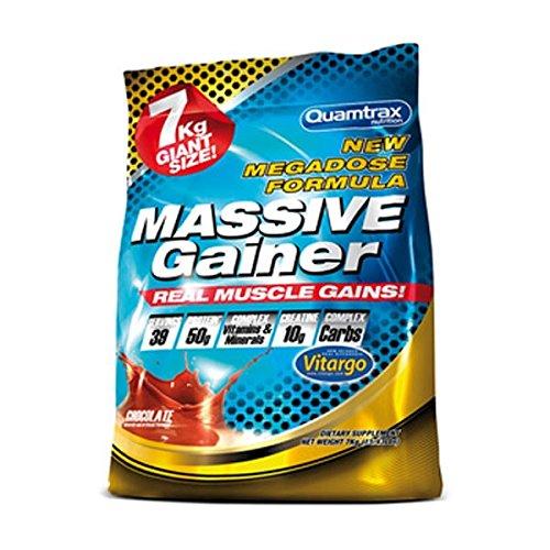 Quamtrax Nutrition Massive Gainer, Vanilla - 7 kg