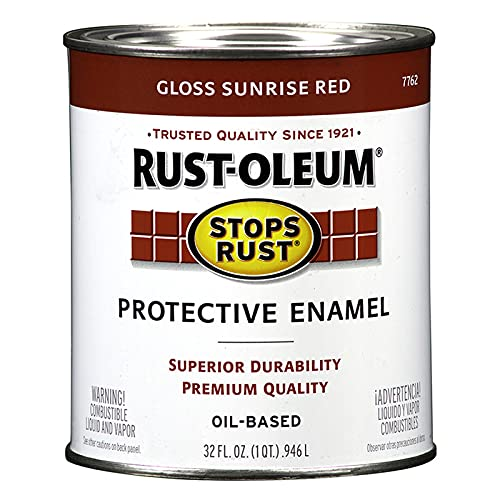 Rust-Oleum 7762502 Stops Rust Brush On Paint,...