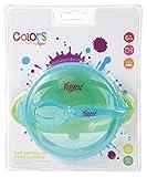 Tigex 80890148 Scodella Pappa Colors per Microonde con Ventosa