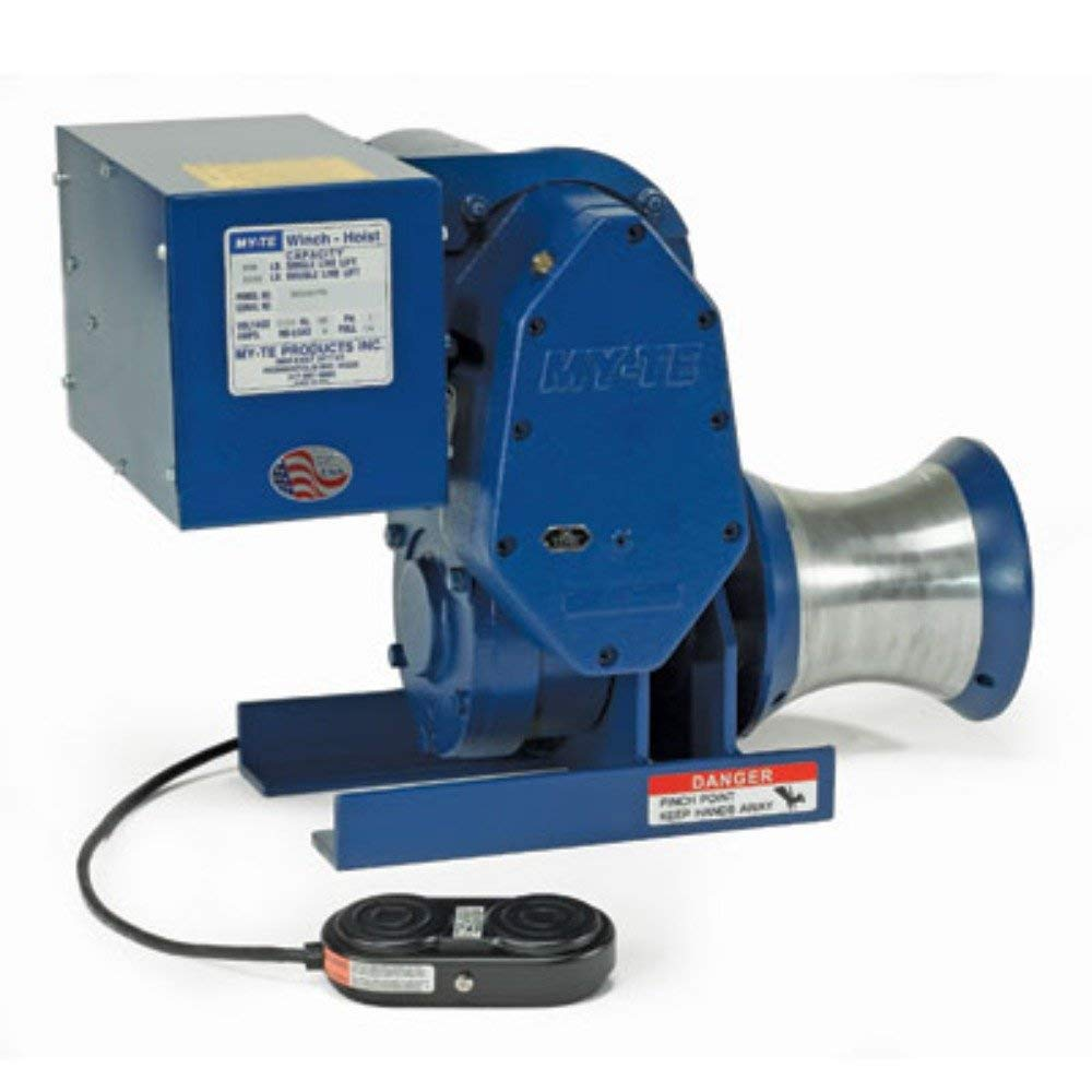 Over item Sales of SALE items from new works handling MY-TE 300AB Utility Capstan Electric Winch-Hoist Lb. 800 Singl