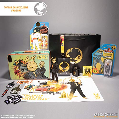 Mezco One:12 Gomez: The Roach with The Golden Head NY Toy Fair 2020 Bundle