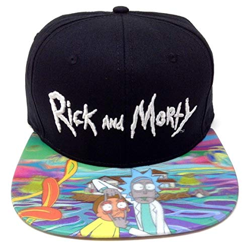 Holographic Snapback Hat