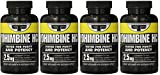 Primaforce, Yohimbine HCl Weight Loss Capsules DyyEsf, 4Pack (90 Capsules)
