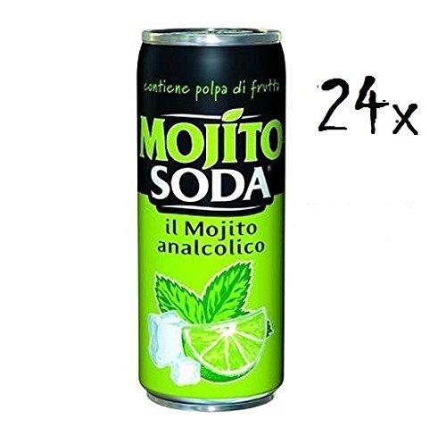 24x MOJITOSODA 330 ml Campari Group Mojito Limette alkoholfrei italienisch
