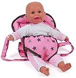 Bayer Chic 200078283portabebés, Estrellas de Correa, muñecas Gris...