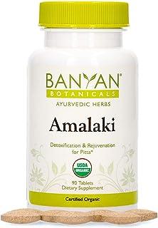 Banyan Botanicals Amalaki (Amla) - USDA Organic, 90 Tablets - Emblica officinalis - Ayurvedic Antioxidant for Hair, Skin, ...