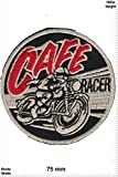 Parches - Cafe Racer - MusicParches - Rock - Chaleco - Parche Termoadhesivos Bordado Apliques - Patch - Give Away Regalar