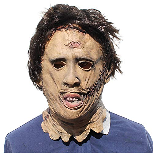 QWER Kettingzaag Mascaras Killer Latex Maskers Enge Film Cosplay Kostuum Props Halloween Props