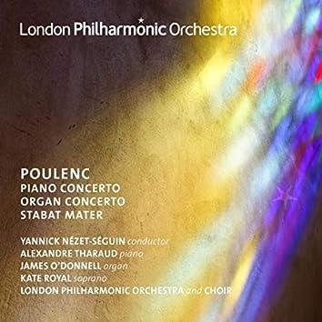Poulenc: Piano Concerto, Organ Concerto & Stabat Mater (Live)