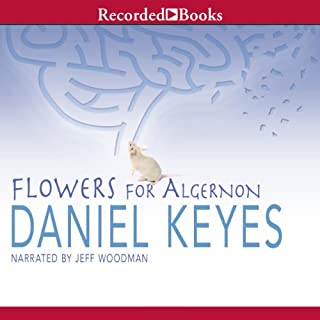 Flowers for Algernon audiobook cover art