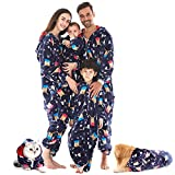 HORSE SECRET Pijama Hombre Mujer, Pijama en Tejido Franela Polar Suave y cómodo para Toda la Familia, excelente para Invierno, Navy - Bebé, 12 - 18 Meses (11.3 - 12.7kg)