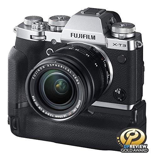 Fujifilm X-T3 Mirrorless Digital Camera w/XF18-55mm Lens Kit - Silver