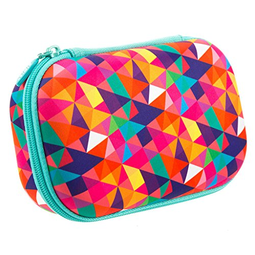 ZIPIT Colorz Large Pencil Box for Girls & Boys, Holds Up to 60 Pens, Sturdy Storage Container for School and Office Supplies, Secure Zipper Closure