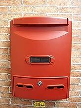 Yxsd Mailbox sloten villa krant dozen suggestie doos vintage Europese stijl home mailbox brievenbus outdoor regen