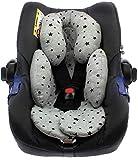 BEYBI Reductor bebé punto algodón universal para capazo, silla coche grupo 0, silla de paseo y cuna