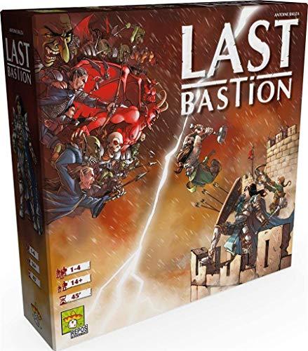 Asmodee- Last Bastion Gioco da Tavolo, Multicolore, 8411