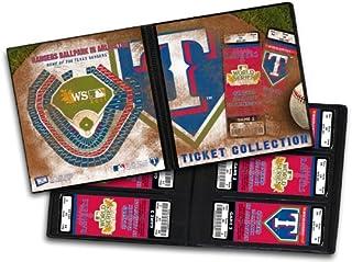 MLB Texas Rangers 2011 World Series Ticket Album
