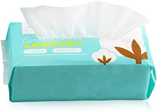 Disposable Towel Beauty Treatment Cleansing Towel Face-Wash Towel Sensitive Skin for Makeup 1 Bag
